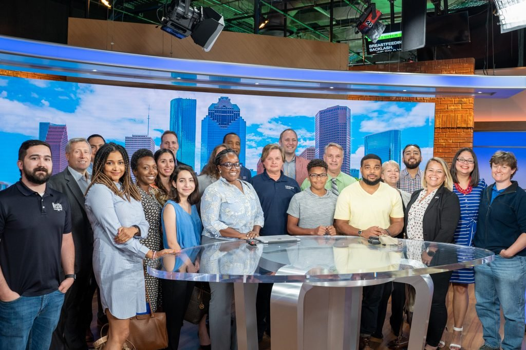 Tour with KHOU and Combined Arms